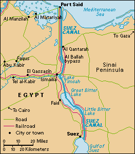 Canal De Suez Mapa Fisico Africa.Diferencias Entre El Canal De Panama Y El Canal De Suez