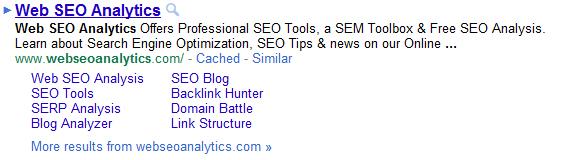 sitelinks-screenshot