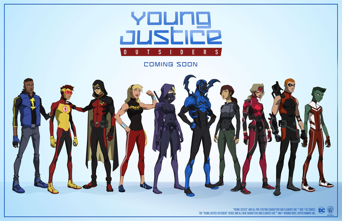Netflix Young Justice Season 4 Release Date, Cast, Plot