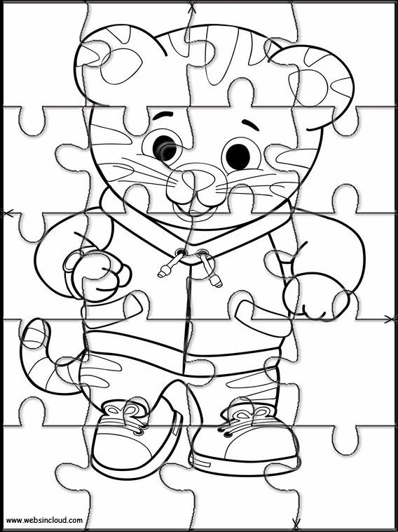 Puzzle Da Stampare E Ritagliare Daniel Tiger 10
