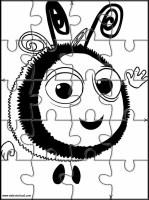 Ausmalbild Bienenstock