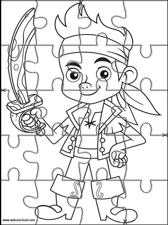 Printable Jake and the Never Land Pirates to cut out 6