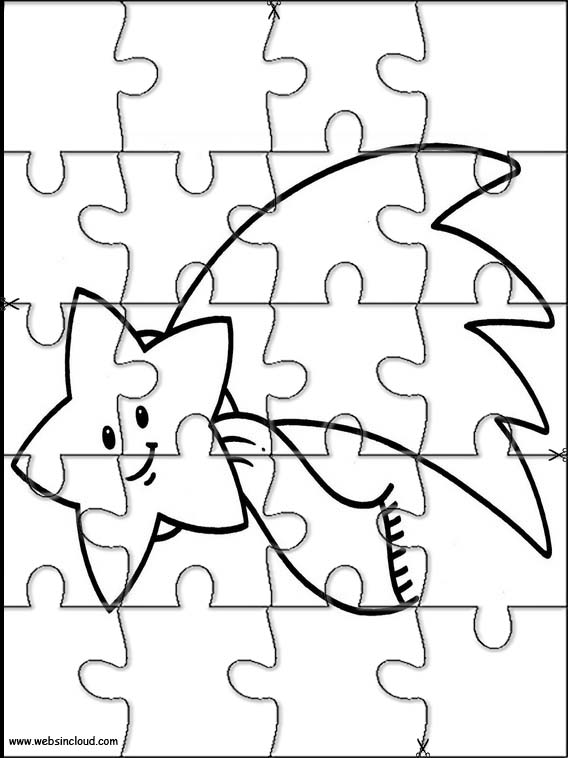 Space Printable Puzzle 9
