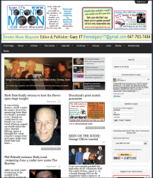 Toronto Moon Magazine Website Built by Webs In Motion