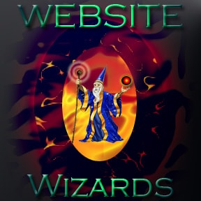 website wizard logo
