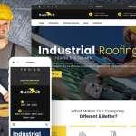 WordPress Industrial Website Design Image