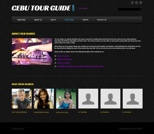 cebu tour guide guides page image