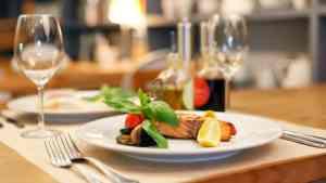 Restaurant plate image