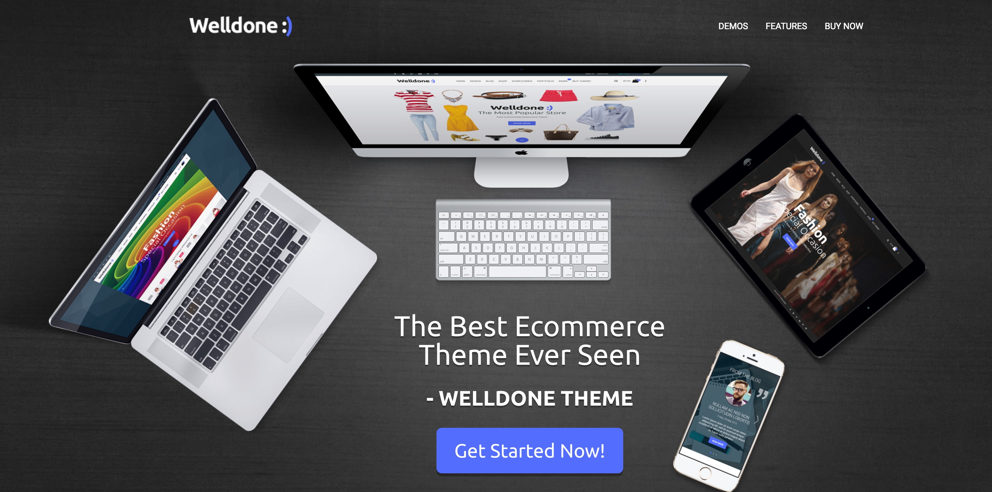 Welldone - VirtueMart eCommerce Theme