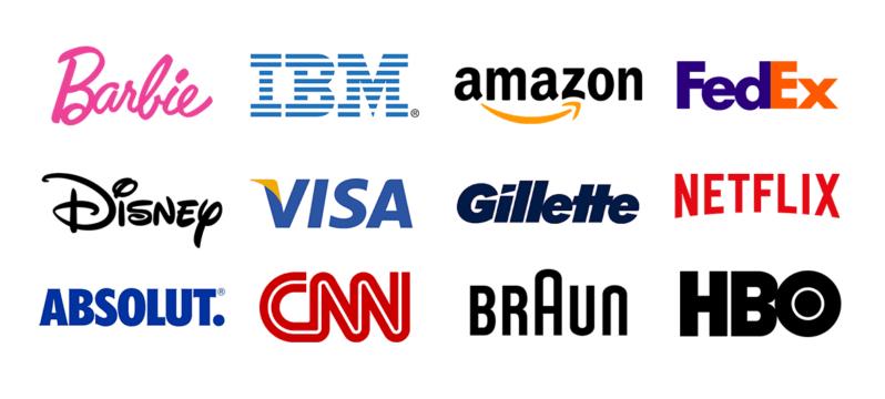 typography logo examples