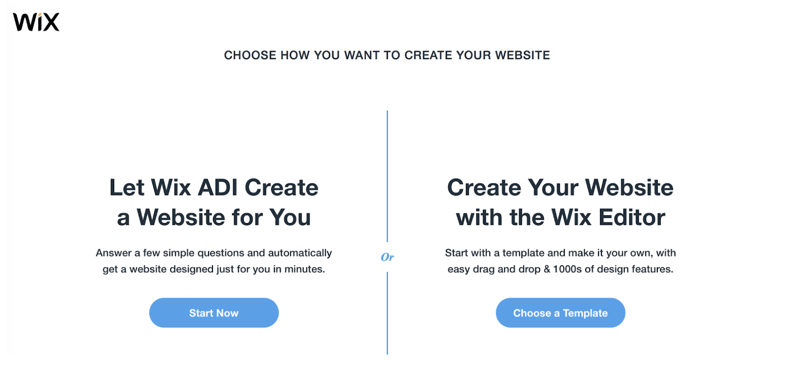 Wix Editor Selection