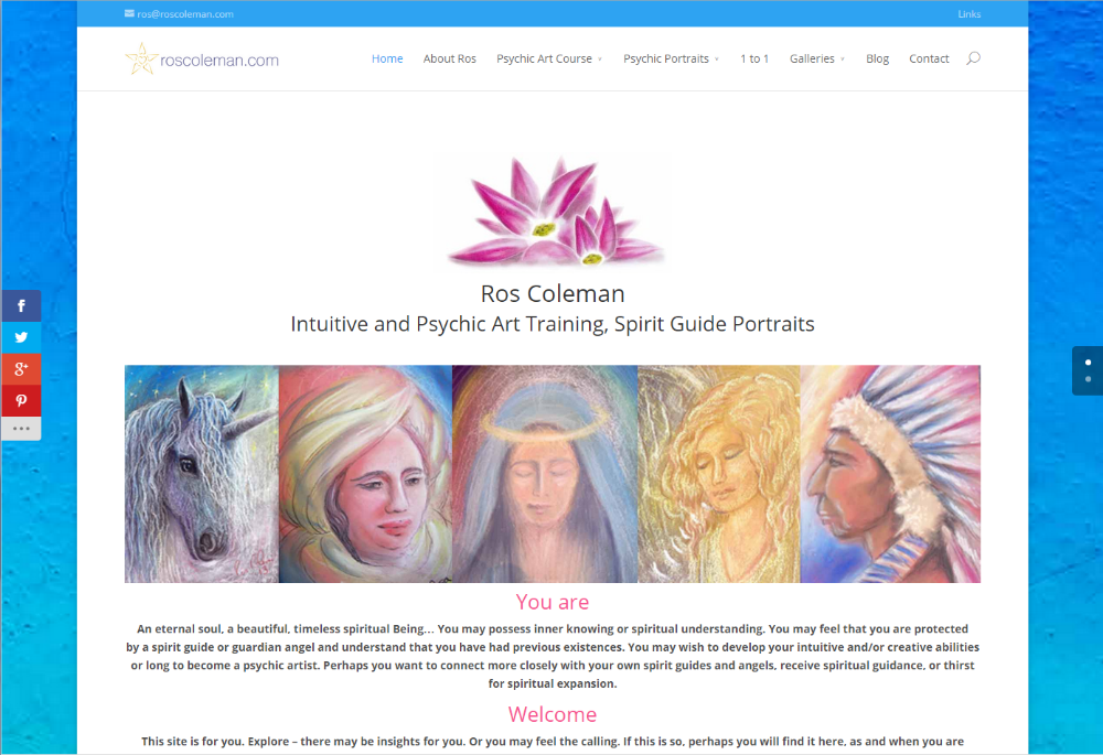 The Divi Theme by Ros Coleman