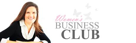 Womans Business Club tops Google with Website Design Cheltenham help