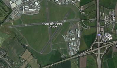 Gloucestreshire Staverton Airport has asked Website Design Cheltenham in build a live webcam