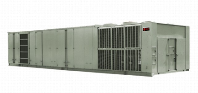 Figure 1. A direct expansion unit with an air-side economizer unit provides four operating modes including direct air, 100% recirculation, and two mixed modes. It is a well-established technology, designed to go from full stop (no power) to full cooling in 120 seconds or less, and allowing for PUE as low as 1.30-1.40.