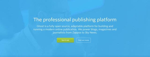 Best Blogging Platform - Ghost