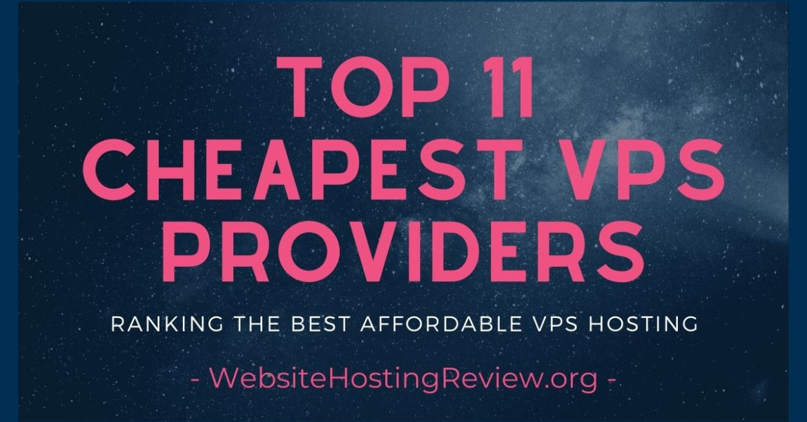 Top 7 Best VPS Hosting Services 2020