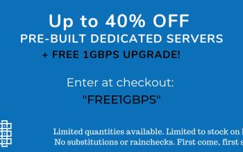 Rad Web Hosting Announces 1-hour Deployment of Pre-built Dedicated Servers