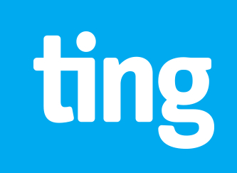 Logo for ting mobile services