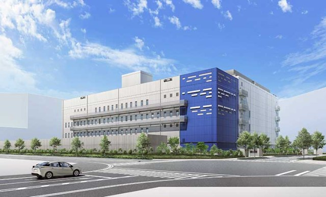 An illustration of the MC Digital Realty NRT 10 data center in Inzai, Japan. (Image: Digital Realty)