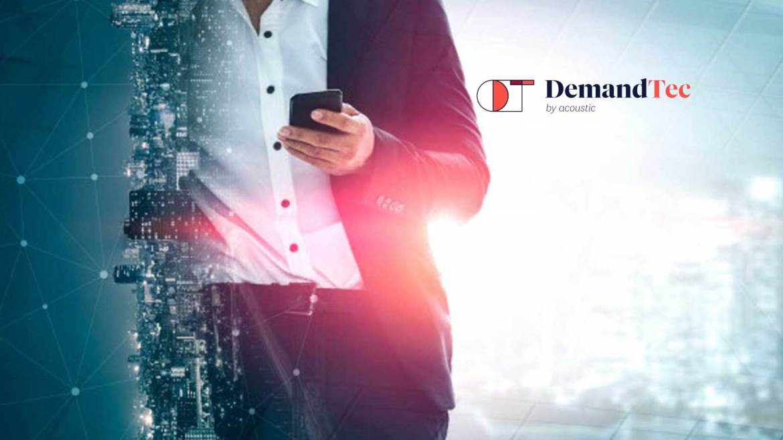 DemandTec by Acoustic Appoints Todd Michaud as CEO