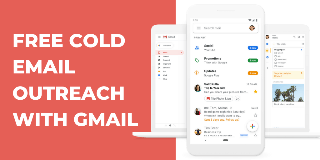 Your emails better grab your customers attention. How To Do Free Cold Email Outreach With Gmail 2021 Guide