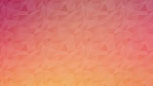 Polygon Background Orange