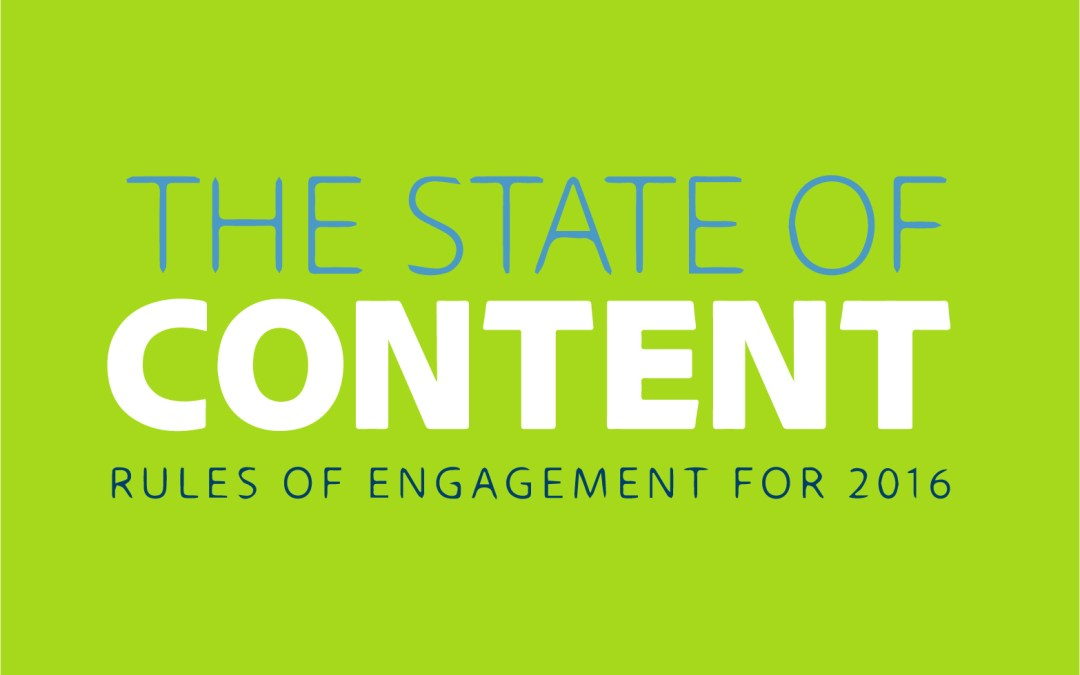 The State of Content in 2016