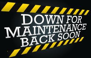 Website Down For Maintenance