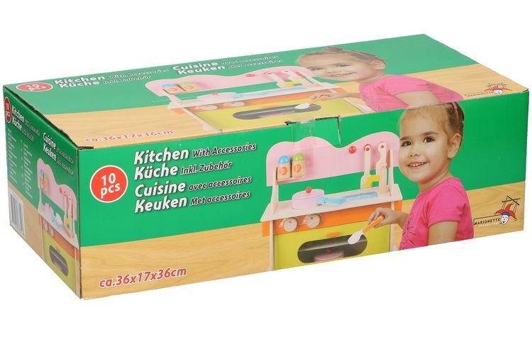 Cucina giocattolo in legno per bambini Marionette Wooden Toys