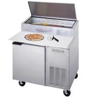 "Beverage-Air DP46 46"" One Door Pizza Prep Table"