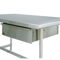 "Metro WTD51S 24"" x 25"" Stainless Steel Deluxe Work Table ..."