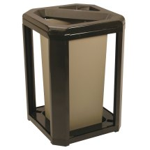 Rubbermaid 396600 Landmark Series Classic Container Sable