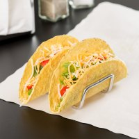 Tablecraft TRW12 Taco Taxi Stainless Steel Taco Holder