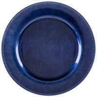 "The Jay Companies 1270168 13"" Round Royal Blue Beaded ..."
