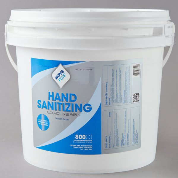 Wipesplus Empty Bucket Hand Sanitizing Wipes