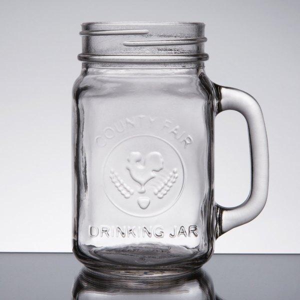 Core 16 Oz. County Fair Mason Jar Drinking With