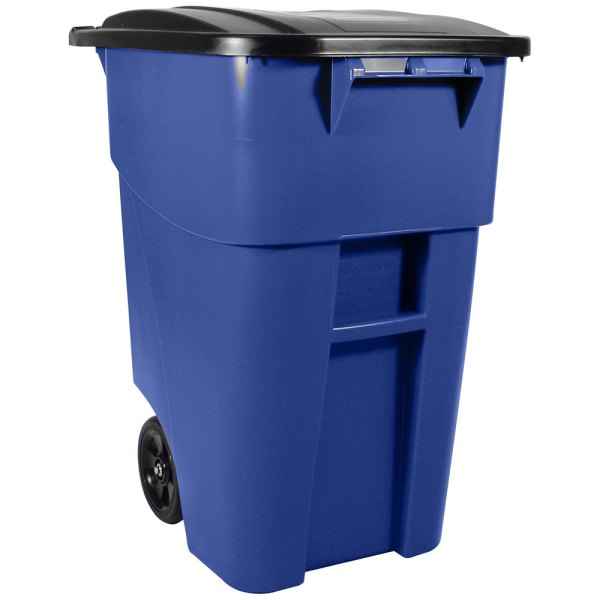 Rubbermaid Commercial Trash Cans with Lids