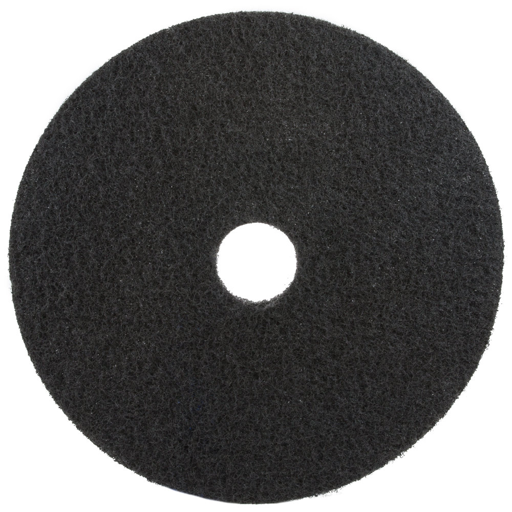 3M 7200 20 Black Stripping Floor Pad  5Case