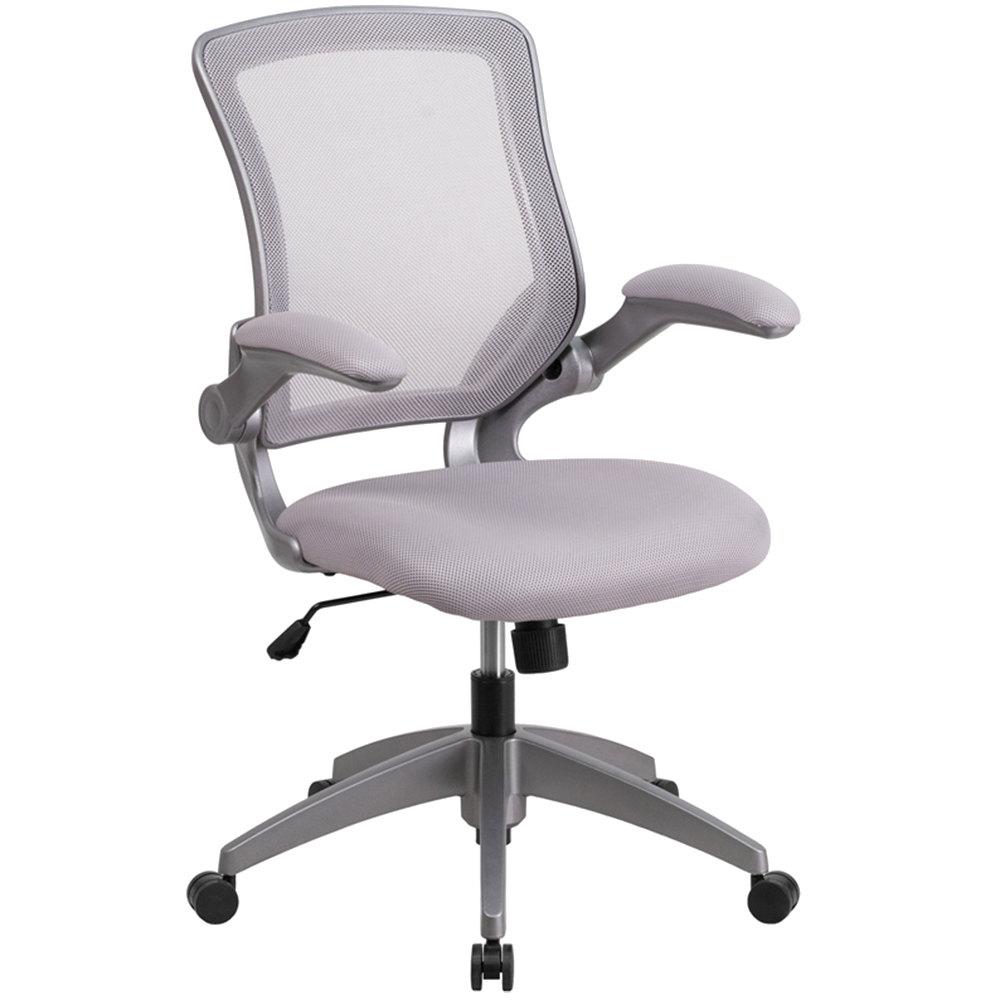 Flash Furniture BLZP8805GYGG MidBack Gray Mesh Office