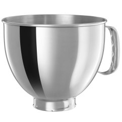 Kitchen Aid 5 Qt Mixer Farm House Table Kitchenaid K5thsbp Stainless Steel Qt. Mixing Bowl With ...