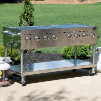 """Backyard Pro C3H860 60"""" Stainless Steel Outdoor Grill"""