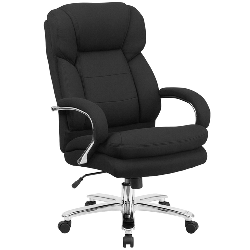 add headrest to office chair recliner india flash furniture go-2078-gg high-back black fabric intensive-use multi-shift swivel ...