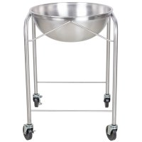 Vollrath 79301 Stainless Steel Mobile Mixing Bowl Stand ...
