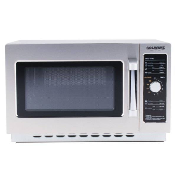 Solwave 1000w Stackable Commercial Microwave With Large 1