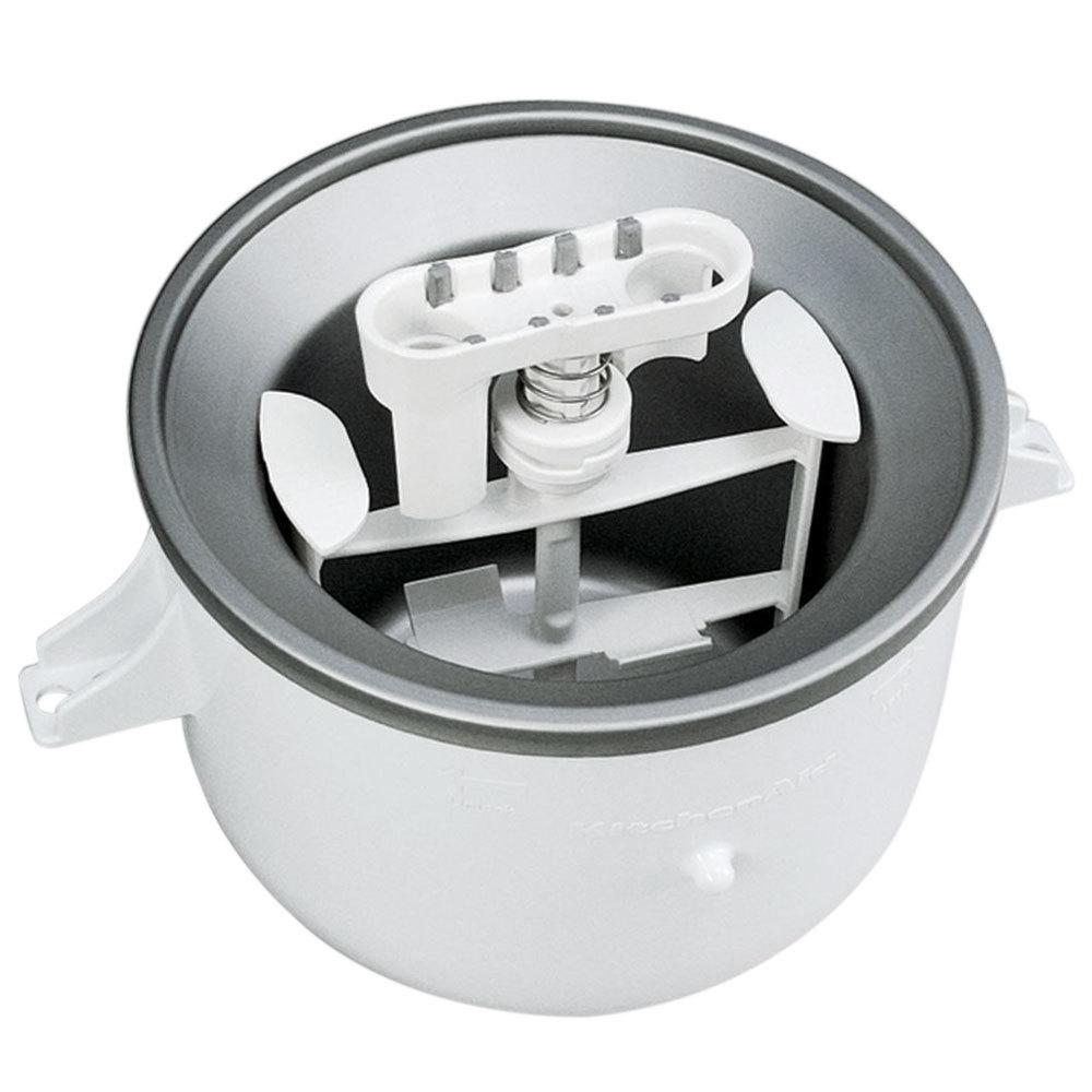 KitchenAid KICA0WH Ice Cream Maker Attachment For