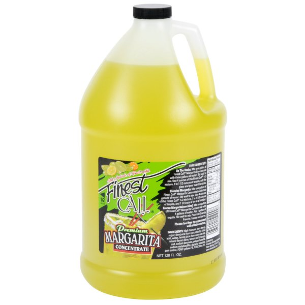 Finest Call Margarita Drink Mix Concentrate 1 Gallon