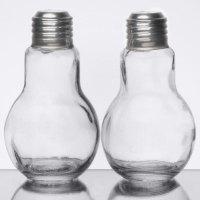 American Metalcraft SPLB7 4 oz. Glass Lightbulb Salt and ...