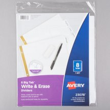 Avery 24 Tab Dividers - Year of Clean Water