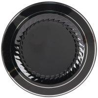 """Fineline Silver Splendor 510-BKS 10"""" Black Customizable ..."""